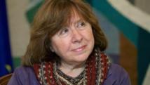 Belarussian dissident Alexievich wins Nobel Literature Prize