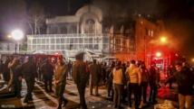 Anti-Saudi protests in Iran as row smoulders