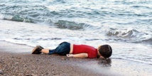 Drowned Syrian toddler's father wept over French cartoon