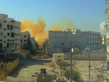 Truck bomb in Syria's Aleppo kills 23, including fighters: monitor