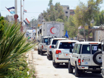 Syria truce task force meets as aid deliveries start
