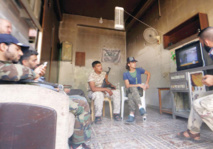 Tea breaks, video games: Syria rebels use truce to unwind