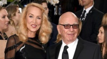 Stars join Murdoch, Hall at day-after wedding bash