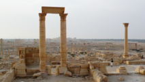 Russian deminers comb Syria's Palmyra for IS deadly legacy