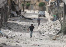 Rebel rocket fire kills 3 civilians in Syria's Aleppo