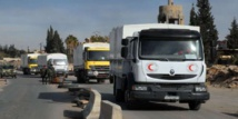 Aid convoy to Syria's besieged Daraya refused entry