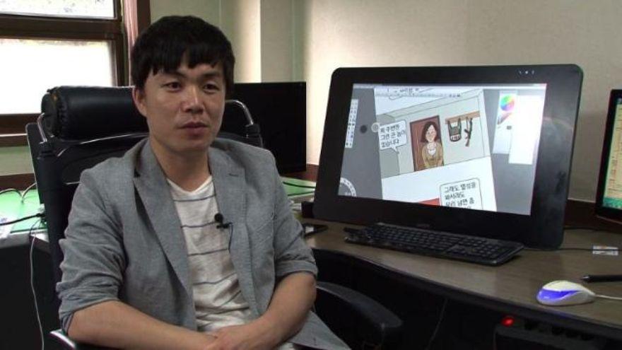 A North Korean defector's life ... in webtoons