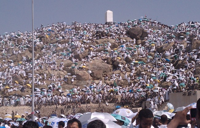 Nearly 1.5 million people begin annual hajj in Saudi