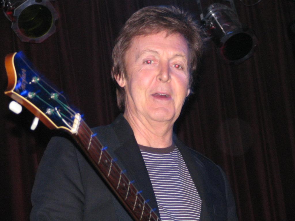 Paul McCartney 'emotional' as Beatles film has UK premiere