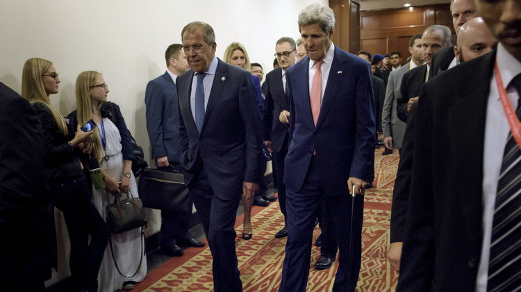 Kerry, Lavrov discuss Syria in New York: Moscow