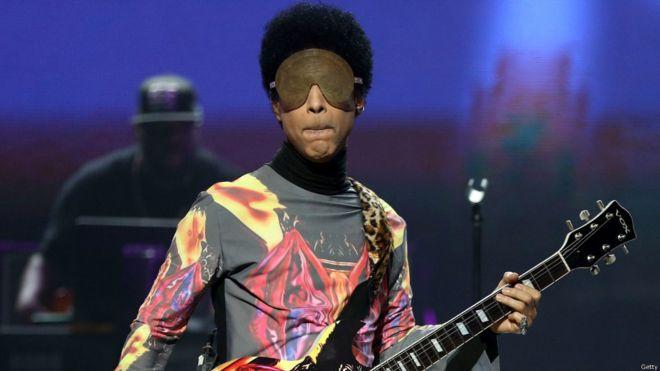 At festival, a unique take on Prince's 'Purple Rain'