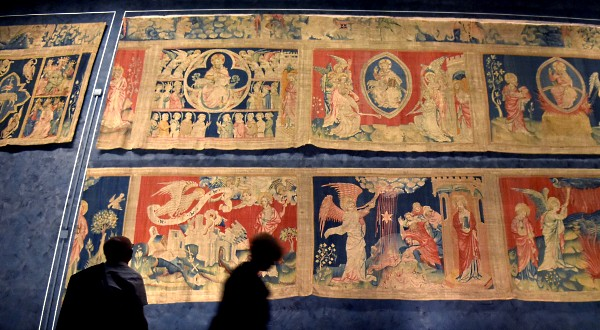 France's Apocalypse Tapestry to be restored to medieval glory