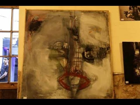 Syrian refugee paintings snapped up in Greek auction