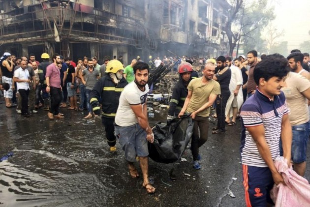 IS truck bomb in Iraq sows carnage among Shiite pilgrims
