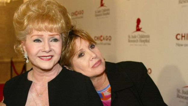Carrie Fisher's mom Debbie Reynolds rushed to hospital
