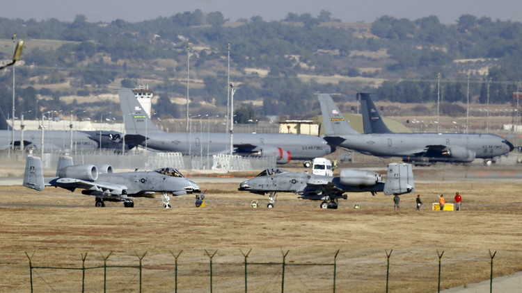Turkey asserts 'right' to close key base for coalition