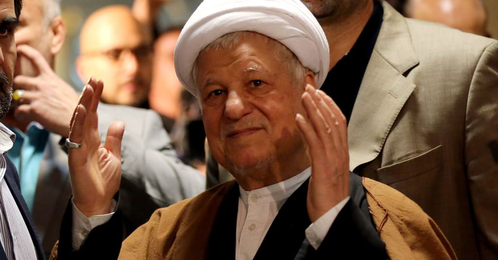 Iran's ex-President Rafsanjani dies at 82