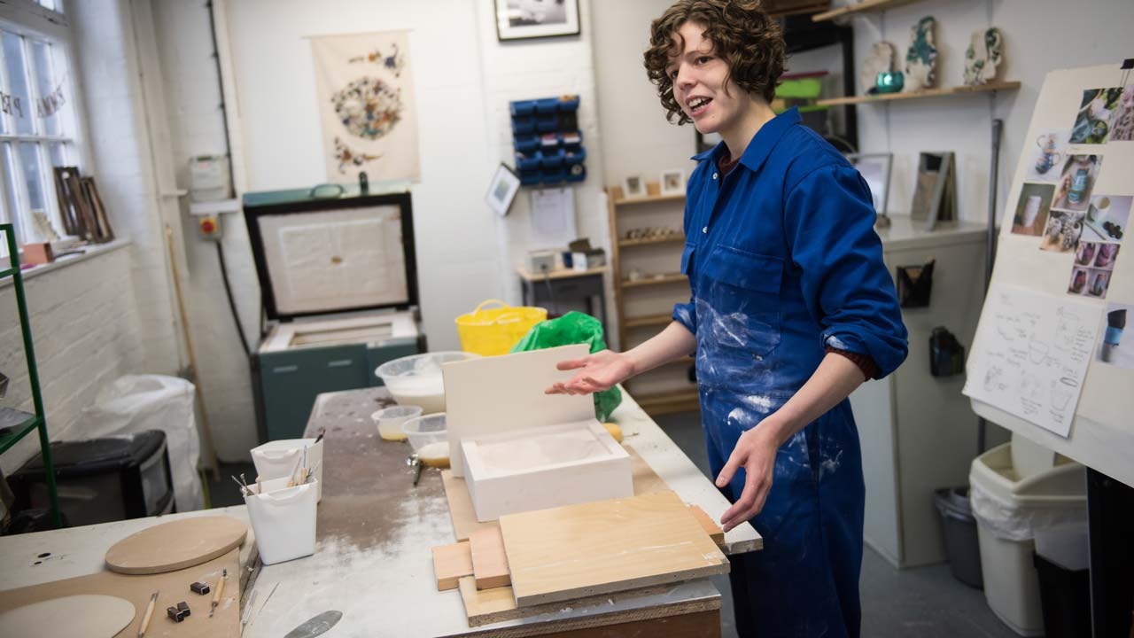 Artisans break the mould in Britain's pottery capital