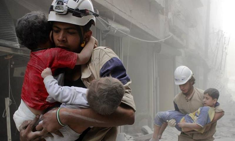 Syria's White Helmets to travel to US for Oscars