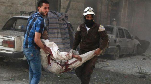US claims Syria strike, denies hitting mosque where 49 killed