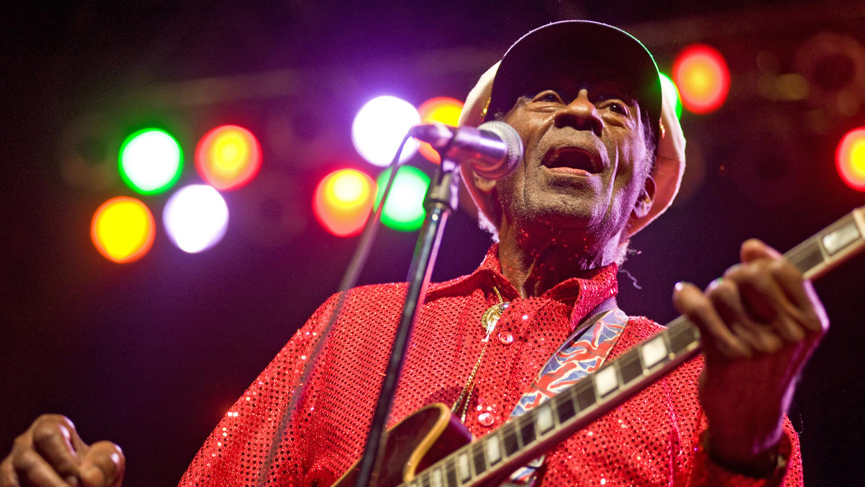 Rock 'n' roll father Chuck Berry dead at 90