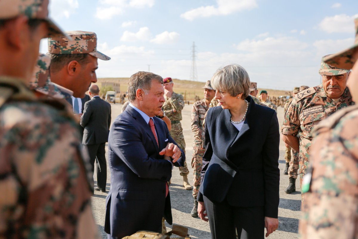 Britain's May begins Mideast trip focused on security, trade