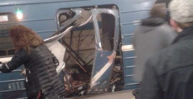 Russia probes 'act of terror' after metro blast kills 10
