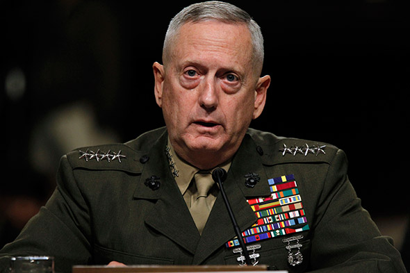 Pentagon chief says 'no doubt' Syria behind chemical attack