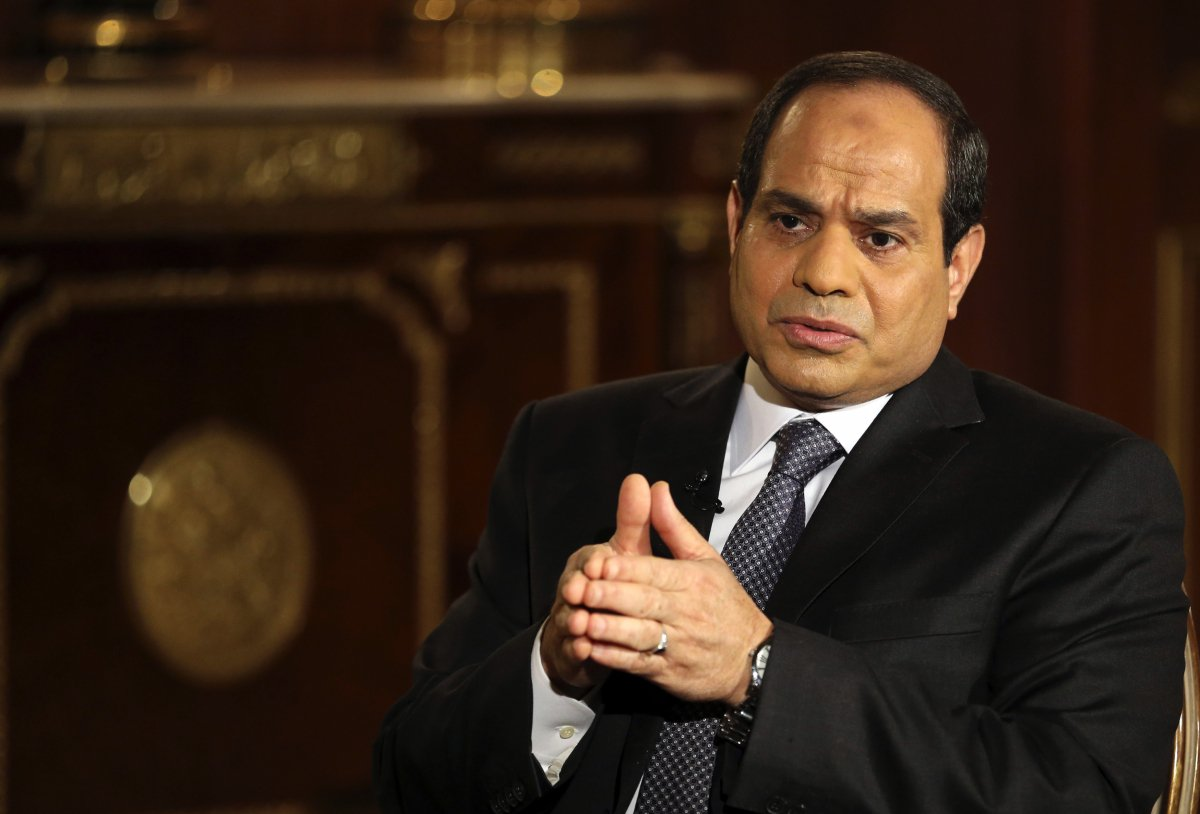 Egypt's Sisi in UAE for talks