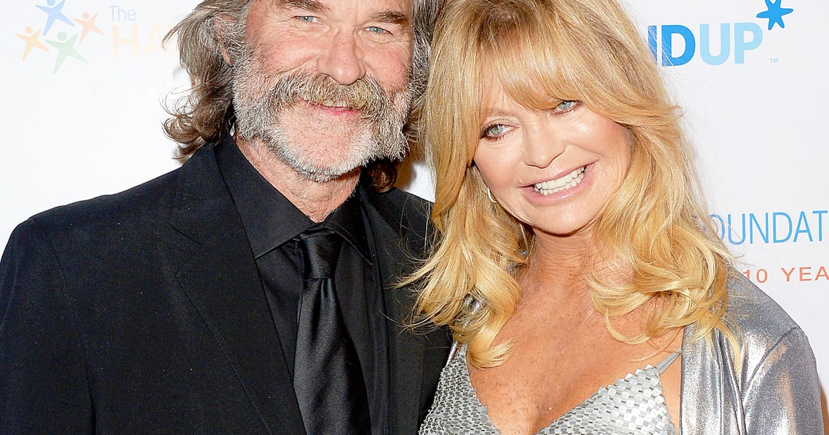 Goldie Hawn, Kurt Russell get Hollywood stars
