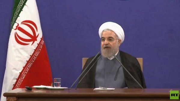 Rowhani takes oath of office for second term as Iranian president