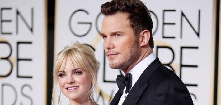 Actors Chris Pratt and Anna Faris split up