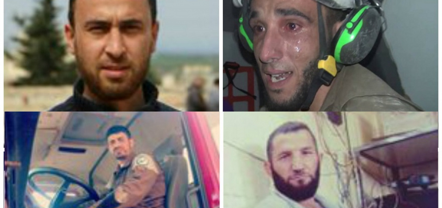 US calls killing of volunteer White Helmets in Syria 'brutal murders'