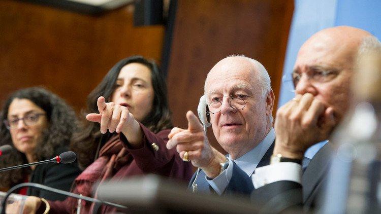 UN envoy hopes for start of substantive Syria talks in October