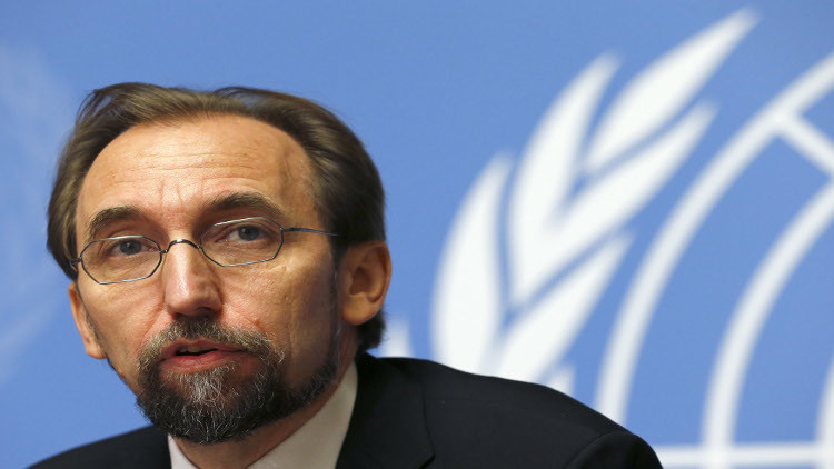 UN rights chief: Anti-IS campaigns in Syria lose sight of real goal