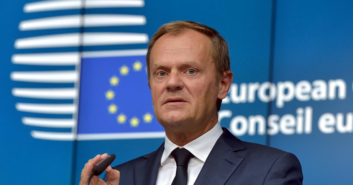 EU's Tusk: Not enough progress to move on to post-Brexit trade talks