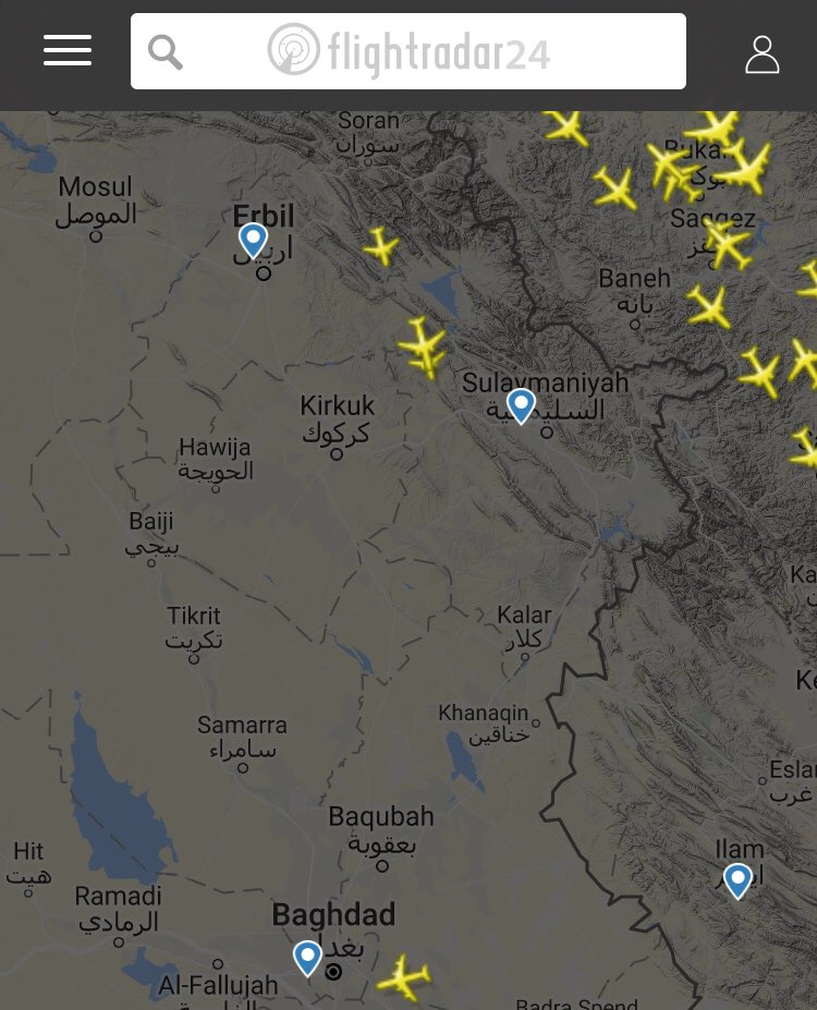 Iraq imposes flight ban on Kurdistan over disputed independence