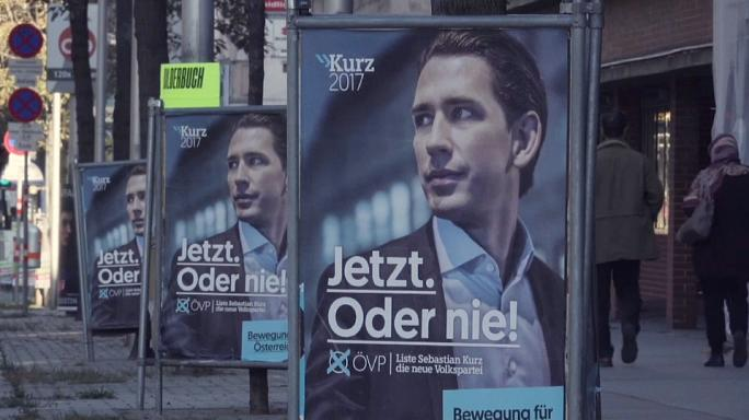 31-year-old immigration hardliner Kurz aims for Austrian election win