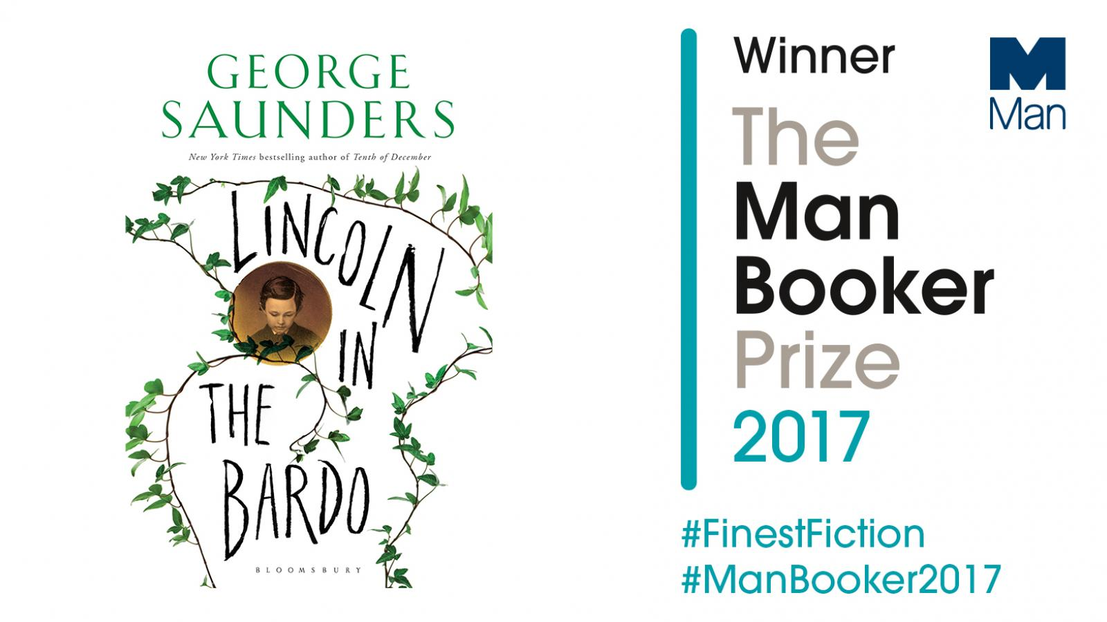 Lincoln in the Bardo wins 2017 Man Booker Prize