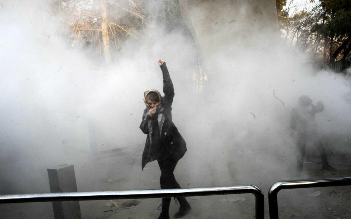 Anti-government protests sweep through Iran for a third day