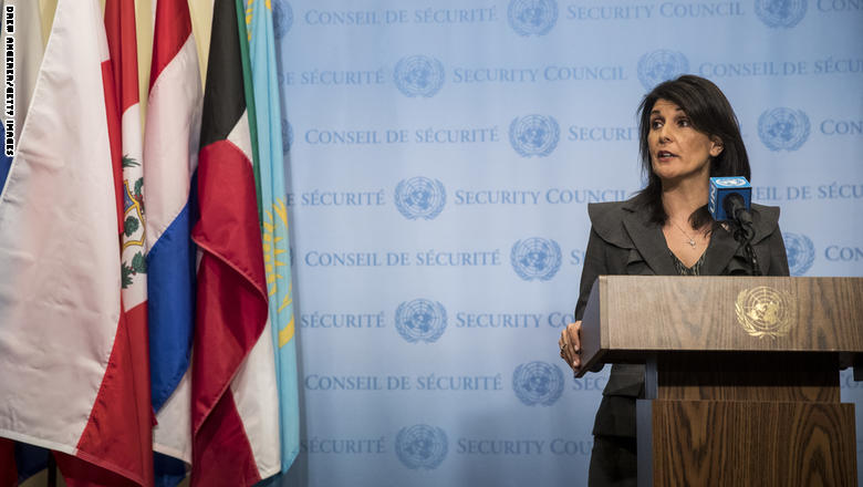 'Complete nonsense': Haley slams Iran leader's 'outside foes' claim