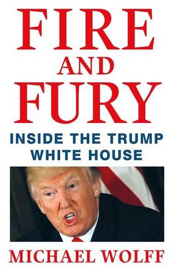 Trump vents rage as author defends 'Fire and Fury' reporting