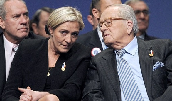 National Front founder Le Pen decries 'disastrous' party name change