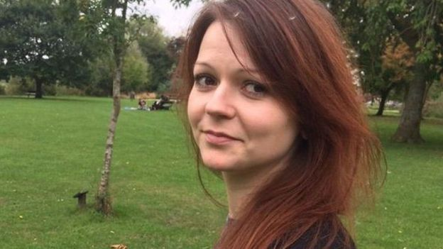 Yulia Skripal turns down Russian help as she recovers from poisoning