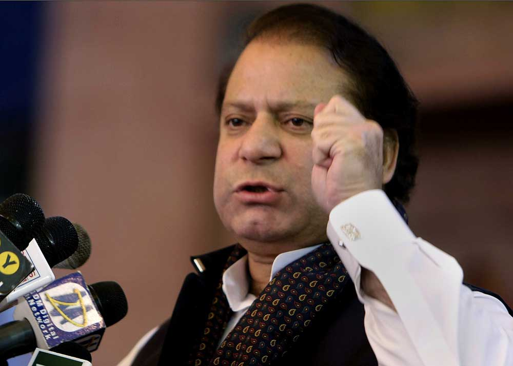 Pakistani court bans ex-premier Sharif from politics for life