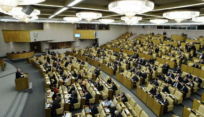 Russian bill threatens jail for abiding by Western sanctions