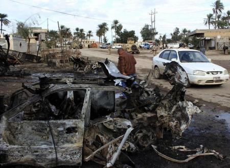 Car bomb strikes ballot box storage site in Iraq