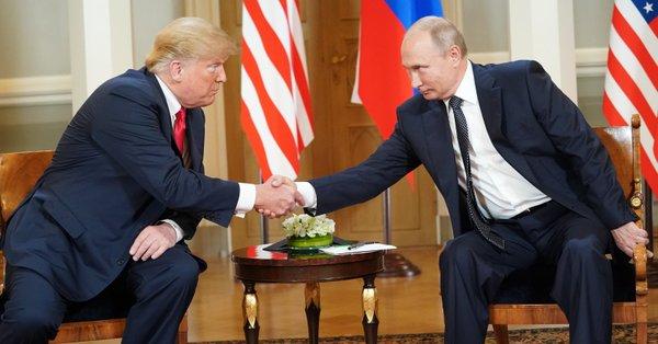 Trump congratulated Putin on successful World Cup at start of Helsinki talks