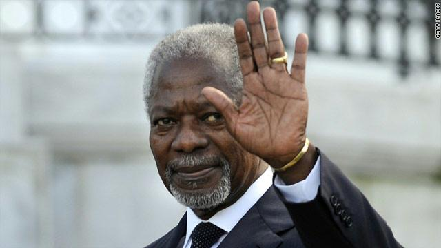 Kofi Annan: Diplomat for Africa and the world