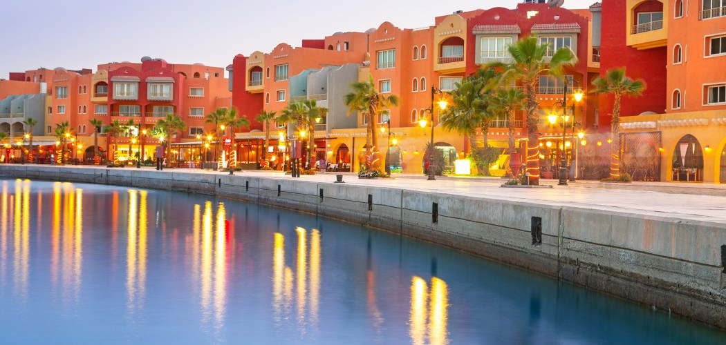 the Red Sea resort of Hurghada